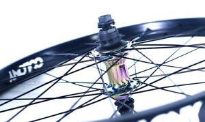 COLONY - BMX Wheel Rear PINTOUR WASP HUB - Rainbow