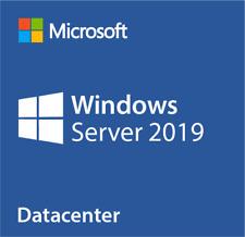 MICROSOFT WINDOWS SERVER 2019 DATA CENTER Full Version 64bit