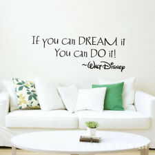 If You Can Dream It You Can Do It Proverbs Wall Sticker Art Decal Home Decor New