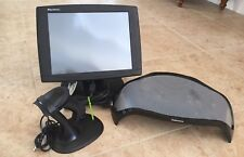 """Lot: Promac 15""""monitor Usb Barcode Laser Scanner w/Stand & Fellows Monitor Riser"""