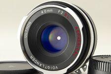 【AB- Exc】Voigtlander ULTRON 40mm f/2 SL Aspherical for Nikon Ai-S From JPN #2902