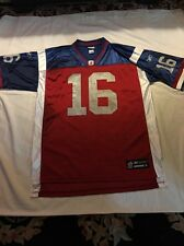 VINTAGE REEBOK CFL MONTREAL ALOUETTES FOOTBALL JERSEY SIZE XL number 16 LANDRY
