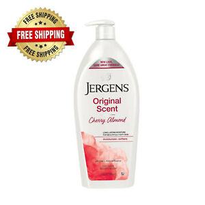 Jergens Original Scent Dry Skin Lotion with Cherry Almond Essence, 32 fl oz New