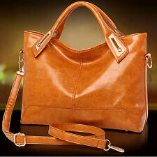 2016 Fashion Women Real Genuine Leather Handbag Cross Body Shoulder Bag Tote