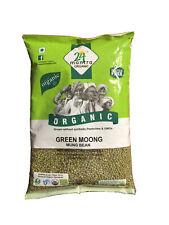 Whole Green Gram Moong, Mung Beans Organic 4 lb, Free Shipping