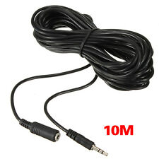 32Ft/10M 3.5mm IR Repeater Extension Cable Extender Wire fr Infrared Receiver SY