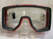 Beuchat GOGGLES Scuba Diving Snorkeling Tempered Glass PINK Face MASK