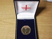 1966 ENGLAND WORLD CUP MEDAL - c/w BOX & CREST