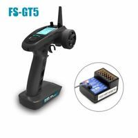 FlySky FS-GT5 2.4G 6CH RC Transmitter Remote Controller FS-BS6 Receiver RC Cars
