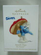 2012 Hallmark Keepsake Ornament Smurfy Days The Smurfs