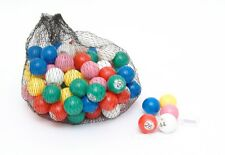 PLASTIC 22mm BAG CAGE BINGO BALLS FOR NUMBER CALLING BY BINGO CALLER raffle draw