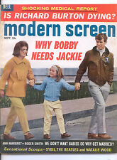 MODERN SCREEN  September 1965 (9/65) - Complete Issue