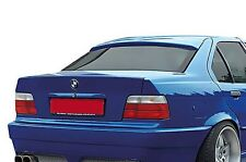 BMW E36 Sedan Euro M M3 Roof Extension Rear Window Cover Spoiler Wing Trim ABS -