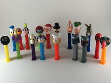 18 assorted PEZ dispensers Phineas Ferb Santa Snowman Garfield Star Wars Fairy