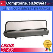 Filet anti-remous coupe-vent, windschott Lexus SC430 cabriolet - TUV