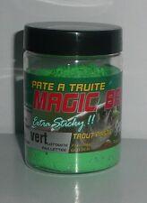 Pate à truite Sensas Magic Bait vert 50g