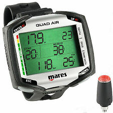 Mares 414134 Diving Air Trasmitter Computer Quad - Black
