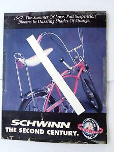 "Very Rare 1991 Schwinn Orange Krate "" Summer Of Love "" Advertising Sign ! ! !"