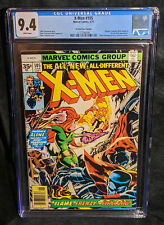 Uncanny X-Men  # 105 RARE 35 Cent Variant CGC 9.4 NM WHITE Highest Ever Graded