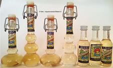 Liquori Lotto 7 mignon bottigliette miniature distilleria Canale Anacapri Napoli