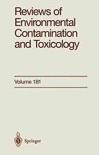 Reviews of Environmental Contamination and Toxicology Ser.: Reviews of...
