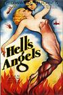 Hell's Angels Vintage Howard Hughes Jean Harlow Movie Poster Print