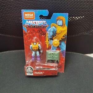 Mega Construx Masters of the Universe MOTU FAKER  Figure TOY GPH70