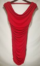 Express Sexy Red Ruched Sleevless Cocktail Dress XS / TP