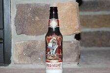 BALLAST POINT NITRO RED VELVET EMPTY BOTTLE UNIQUE LABEL WITH SKELETONS & CAKE!!