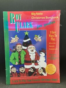 SANTORELLA Roy Clark Big Note Christmas Songbook for Guitar TS117 UNOPENED