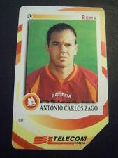 SCHEDA TELEFONICA TELECOM - ANTONIO CARLOS ZAGO - ROMA CALCIO (1BIS-13)