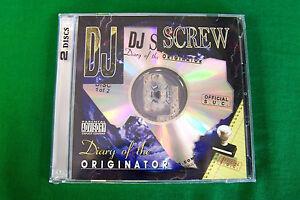 DJ Screw Chapter 45: 100% Business Texas Rap 2CD NEW Piranha Records