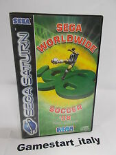 SEGA SOCCER WORLDWIDE 98 (SEGA SATURN) PAL VERSION USED BOXED