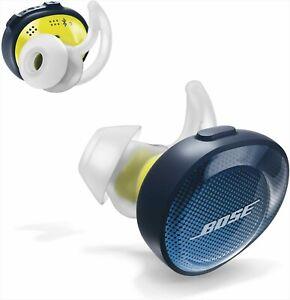 BOSE SoundSport Wireless Earphone Midnight Blue/Yellow Citron New Japan