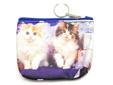 "4.5"" x 3.5"" Double Sided Kittens Zipper Coin Purse ~ Great Gift Idea!"