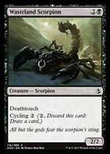 Wasteland Scorpion NM X4 Amonkhet Black Common MTG
