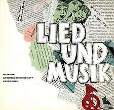 Berens ua, Lied und Musik, 10 J. Diözesan-Arbeitsgemeinschaft Paderborn, 1963