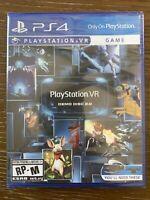 PlayStation 4 VR Demo Disc 2.0 PSVR 2 Sony Virtual Reality PS4