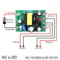 AC-DC Power Supply Module AC 0.3A 3W 220V to DC 5V 12V 24V Mini Converter Tdn