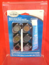 Testors Acrylic Military Colors Paints And Supplies Set 9101T New In Package!