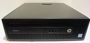 HP EliteDesk 800 G2 SFF (Intel Core i5 6th Gen 3.2GHz 8GB 500GB Win 10) Desktop