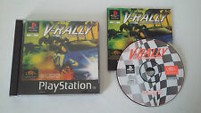 V RALLY - SONY PLAYSTATION - JEU PS1 PSX PS2 COMPLET