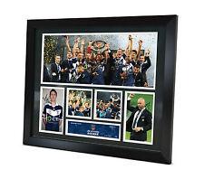 Milligan - Muscat - Signed Melbourne Victory 2015 photo Framed Memorabilia