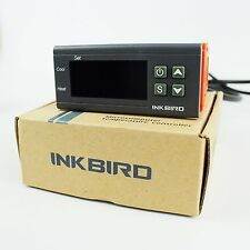 Inkbird AC 12V Dual Stage Heating Cooling Thermostat 2 Relay Output  Itc-1000