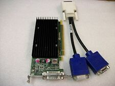 Dual Monitor VGA Nvidia Quadro NVS300 512MB DDR3 Video Graphics Card-PCI-Express