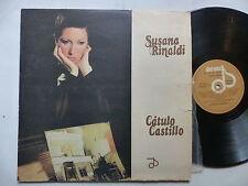 SUSANA RINALDI Catulo castillo DIORAMA 19009 Argentine