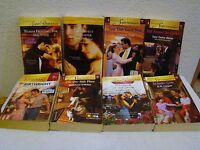 Lot of 8 Harlequin Super Romance Miscellaneous Paperback Novels, VG Condition