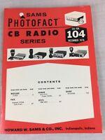 Sams Photofact CB Radio Series Volume CB-104 December 1976 Service Manual