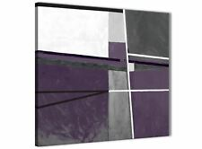 Aubergine Grey Painting Abstract Hallway Canvas Accessories 1s392l - 79cm