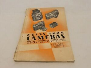 ZEISS IKON GENERAL CATALOGUE OF CAMERAS & AMATEUR PHOTOGRAPHIC 1936